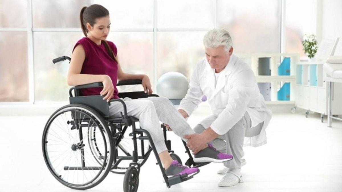 فیزیوتراپی و درمان ضایعه نخاعی